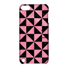 Triangle1 Black Marble & Pink Watercolor Apple Ipod Touch 5 Hardshell Case With Stand by trendistuff