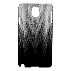 Feather Graphic Design Background Samsung Galaxy Note 3 N9005 Hardshell Case by Onesevenart