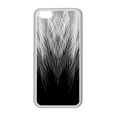 Feather Graphic Design Background Apple Iphone 5c Seamless Case (white) by Onesevenart