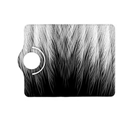 Feather Graphic Design Background Kindle Fire Hd (2013) Flip 360 Case by Onesevenart