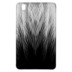 Feather Graphic Design Background Samsung Galaxy Tab Pro 8 4 Hardshell Case by Onesevenart