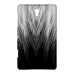 Feather Graphic Design Background Samsung Galaxy Tab S (8 4 ) Hardshell Case  by Onesevenart