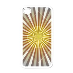 Abstract Art Art Modern Abstract Apple Iphone 4 Case (white) by Onesevenart
