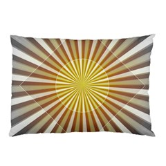 Abstract Art Art Modern Abstract Pillow Case (two Sides) by Onesevenart