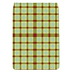 Geometric Tartan Pattern Square Flap Covers (s)  by Onesevenart