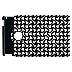 Grid Pattern Background Geometric Apple Ipad 3/4 Flip 360 Case by Onesevenart