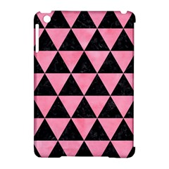 Triangle3 Black Marble & Pink Watercolor Apple Ipad Mini Hardshell Case (compatible With Smart Cover) by trendistuff