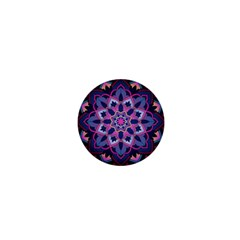 Mandala Circular Pattern 1  Mini Magnets by Onesevenart
