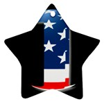 USA Stars & Stripes #1 Ornament (Star)