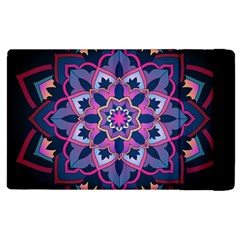 Mandala Circular Pattern Apple Ipad 3/4 Flip Case by Onesevenart