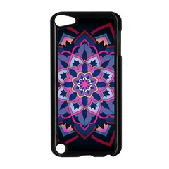 Mandala Circular Pattern Apple Ipod Touch 5 Case (black) by Onesevenart