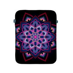 Mandala Circular Pattern Apple Ipad 2/3/4 Protective Soft Cases by Onesevenart