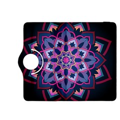 Mandala Circular Pattern Kindle Fire Hdx 8 9  Flip 360 Case by Onesevenart