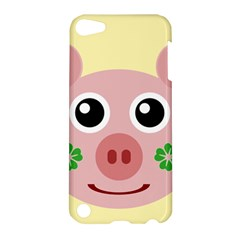 Luck Lucky Pig Pig Lucky Charm Apple Ipod Touch 5 Hardshell Case by Onesevenart