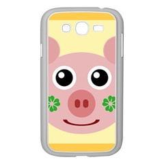 Luck Lucky Pig Pig Lucky Charm Samsung Galaxy Grand Duos I9082 Case (white) by Onesevenart