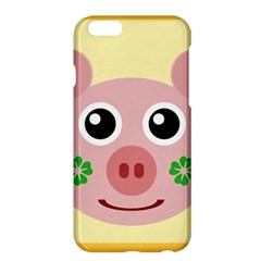 Luck Lucky Pig Pig Lucky Charm Apple Iphone 6 Plus/6s Plus Hardshell Case by Onesevenart