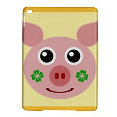 Luck Lucky Pig Pig Lucky Charm Ipad Air 2 Hardshell Cases by Onesevenart