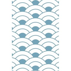 Art Deco Teal White 5 5  X 8 5  Notebooks by 8fugoso