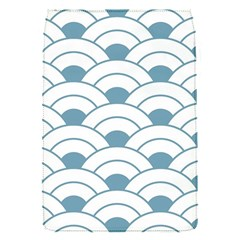 Art Deco Teal White Flap Covers (s)  by 8fugoso