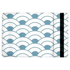 Art Deco Teal White Ipad Air Flip