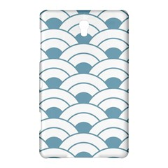 Art Deco Teal White Samsung Galaxy Tab S (8 4 ) Hardshell Case  by 8fugoso