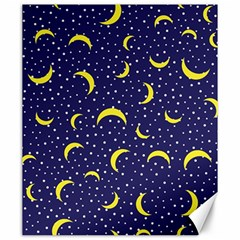 Moon Pattern Canvas 20  X 24   by Onesevenart