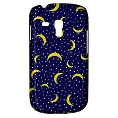 Moon Pattern Galaxy S3 Mini by Onesevenart