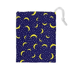 Moon Pattern Drawstring Pouches (large)