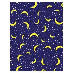 Moon Pattern Drawstring Bag (large) by Onesevenart