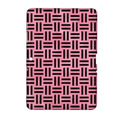 Woven1 Black Marble & Pink Watercolor Samsung Galaxy Tab 2 (10 1 ) P5100 Hardshell Case  by trendistuff