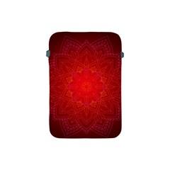 Mandala Ornament Floral Pattern Apple Ipad Mini Protective Soft Cases by Onesevenart