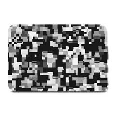 Noise Texture Graphics Generated Plate Mats by Onesevenart