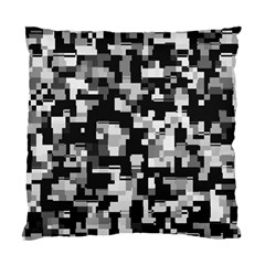Noise Texture Graphics Generated Standard Cushion Case (two Sides) by Onesevenart