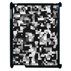 Noise Texture Graphics Generated Apple Ipad 2 Case (black) by Onesevenart