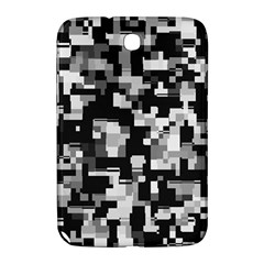 Noise Texture Graphics Generated Samsung Galaxy Note 8 0 N5100 Hardshell Case  by Onesevenart
