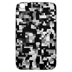 Noise Texture Graphics Generated Samsung Galaxy Tab 3 (8 ) T3100 Hardshell Case  by Onesevenart