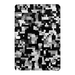 Noise Texture Graphics Generated Samsung Galaxy Tab Pro 12 2 Hardshell Case by Onesevenart