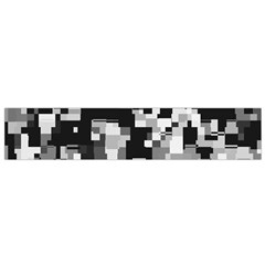 Noise Texture Graphics Generated Flano Scarf (small) by Onesevenart