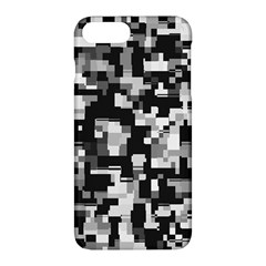 Noise Texture Graphics Generated Apple Iphone 7 Plus Hardshell Case by Onesevenart