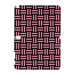 Woven1 Black Marble & Pink Watercolor (r) Galaxy Note 1 by trendistuff