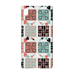 Mint Black Coral Heart Paisley Sony Xperia Z3+ by Onesevenart