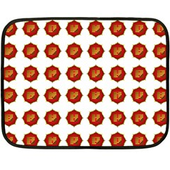 I Ching Set Collection Divination Double Sided Fleece Blanket (mini)  by Onesevenart