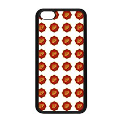 I Ching Set Collection Divination Apple Iphone 5c Seamless Case (black) by Onesevenart