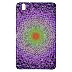 Art Digital Fractal Spiral Spin Samsung Galaxy Tab Pro 8 4 Hardshell Case by Onesevenart