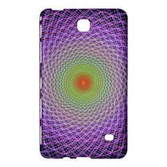 Art Digital Fractal Spiral Spin Samsung Galaxy Tab 4 (7 ) Hardshell Case  by Onesevenart
