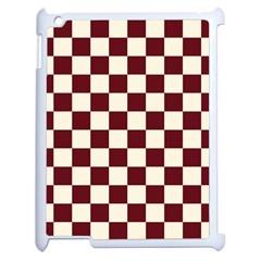 Pattern Background Texture Apple Ipad 2 Case (white) by Onesevenart