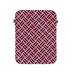Woven2 Black Marble & Pink Watercolor Apple Ipad 2/3/4 Protective Soft Cases by trendistuff