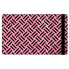 Woven2 Black Marble & Pink Watercolor Apple Ipad Pro 9 7   Flip Case by trendistuff