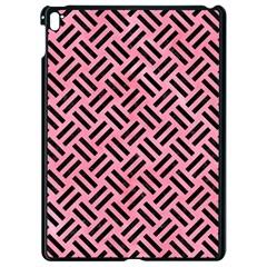 Woven2 Black Marble & Pink Watercolor Apple Ipad Pro 9 7   Black Seamless Case by trendistuff