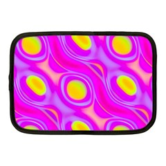Noise Texture Graphics Generated Netbook Case (medium)  by Onesevenart